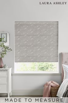 Laura Ashley Pussy Willow Steel Made to Measure Roman Blind