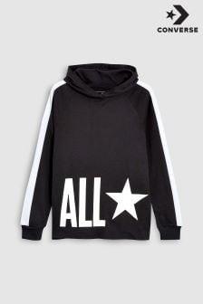 Converse Black All Star Overhead Hoody