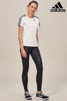 adidas Black Alpha Skin Tight