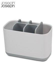 Joseph® Joseph EasyStore Large White And Grey Toothbrush Tidy