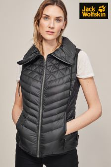 Jack Wolfskin Black Richmond Vest