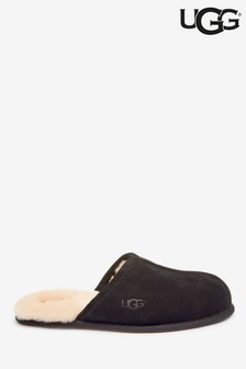UGG® Mens Black Scuff Slippers