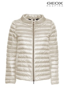 Geox Jaysen Butter Cream Down Jackets