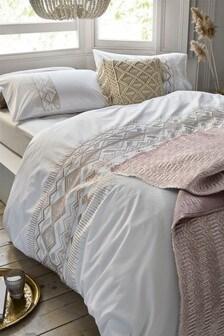 Global Sequin Duvet Cover And Pillowcase Set