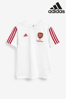 adidas White Arsenal FC T-Shirt