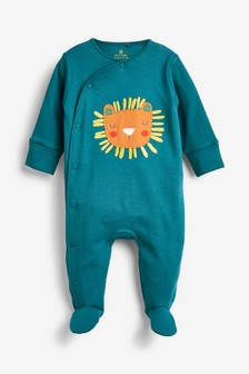 Lion Character Sleepsuit (0mths-2yrs)