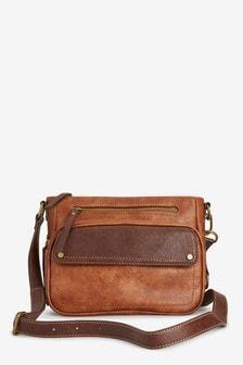 Utility Detail Across Body Bag