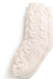 Knitted Bed Socks