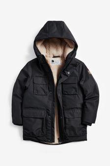 4 Pocket Borg Lined Jacket (3-16yrs)