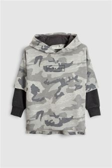 Mock Layer Hoody (3-16yrs)