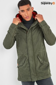 Superdry Khaki Rookie Military Parka