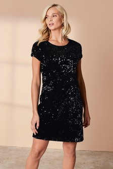 Maternity Sequin Dress
