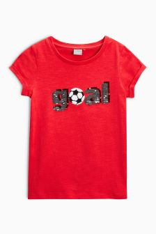 World Cup Sequin T-Shirt (3-16yrs)