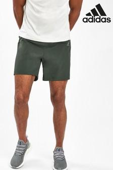 شورت Own The Run كاكي من adidas