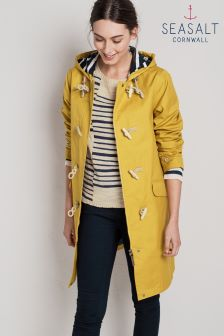 Seasalt Yellow Mustard Extra Long Seafolly Jacket
