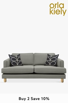 Orla Kiely Willow Medium Sofa with Oak Feet