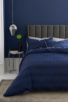 Wave Jacquard Bed Set