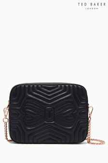 Ted Baker Sunshine Black Quilted Camera Bag