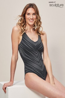 Speedo® Sculpture Black Vivapool Swimsuit