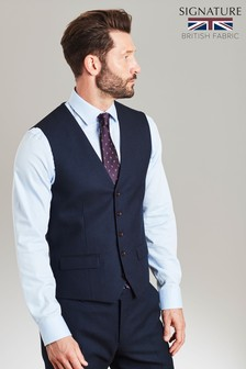 Signature Birdseye Slim Fit Suit