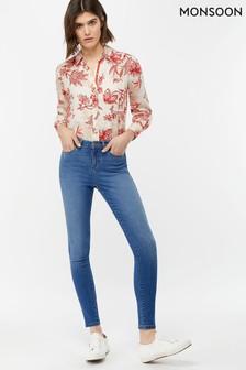 Monsoon Ladies Blue Iris Skinny Jean Regular Length