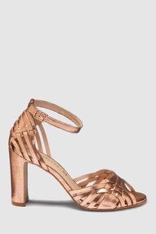 High Weave Sandals