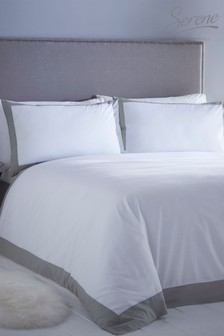 Serene Madison Duvet Cover and Pillowcase Set