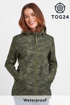 Tog 24 Green Craven Womens Packaway Waterproof Jacket