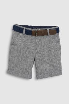 Belted Check Chinos (3-16yrs)
