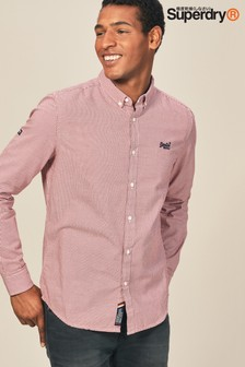 Superdry Premium Button Down Gingham Shirt