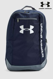 Under Armour Blue Hustle Backpack