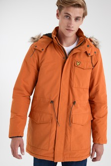 Lyle & Scott Microfleece Lined Coat