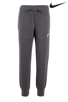 Nike Little Kids Grey Fleece Joggers