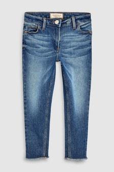 Зауженные джинсы свободного кроя (3-16 лет)