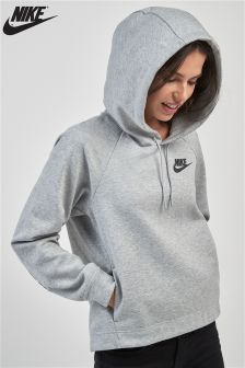 Nike Black and Grey Optic Hoody