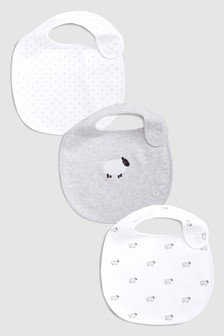 Delicate Sheep Regular Bibs Three Pack