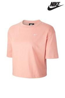 Nike Cropped Logo Tee