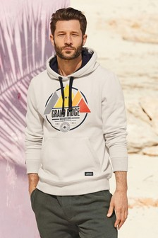 Graphic Overhead Hoody