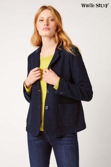 White Stuff Blue Brooklyn Breton Blazer