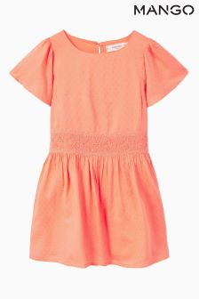 Mango Kids Coral Dress