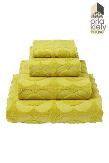 Orla Kiely Spot Sculptured Floral Towel