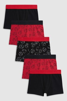 Skull Trunks Five Pack (2-12yrs)