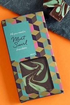 Mint Swirl Chocolate Bar