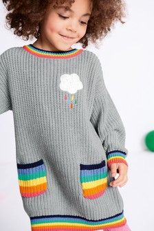 Pocket Jumper Dress (3mths-6yrs)