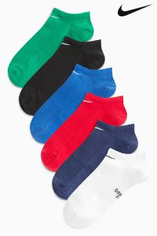 Nike Kids No Show Sock Six Pack