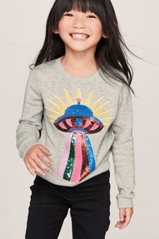 Spaceship Sweater (3-16yrs)