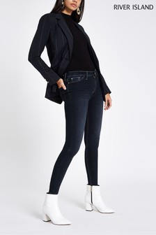 River Island Dark Molly Matell Long Leg Jean