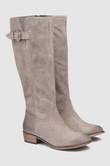 Slouch Long Boots