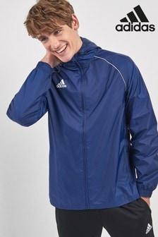 Синяя базовая куртка adidas 18