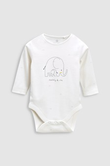 Mummy & Me Long Sleeve Bodysuit (0-18mths)